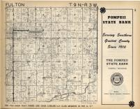 Fulton T9N-R3W, Gratiot County 1955